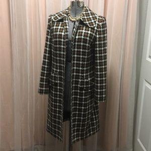 Long suit jacket trench coat